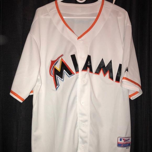 buy popular 92ae3 7b986 Miami Marlins Jersey